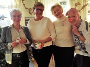 Eva Skovgaard og Anette Harmsen bliver Grise-værter i 2017. Stor tak til dette års værter Ingelise Randow og Anita Näsberg