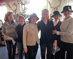 Dagens match – 8 huller texas-scramble -blev vundet af Anne C. Rosenørn-Lehn, Anette Nygaard og Anette Sunne Harder. Nr. to blev Eva Bramsnæs, Susanne Gjedde og Katja von Cotta S.