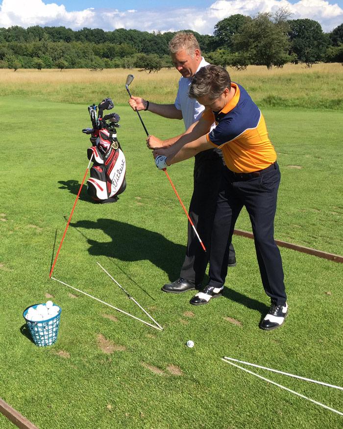 traening-med-golf pro